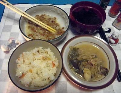 RIMG0029_0304夜-おろし納豆、野菜煮浸し、お吸い物、すし飯_400.jpg