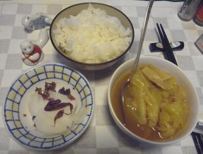 RIMG0033_0305夜-キャベツのスープ煮、大根しば漬け、ご飯_400.jpg