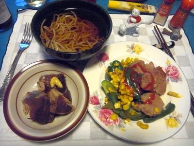 RIMG0008_0504夜-ポークフィレソテー野菜添え、かつおのたたき、蕎麦_400.jpg
