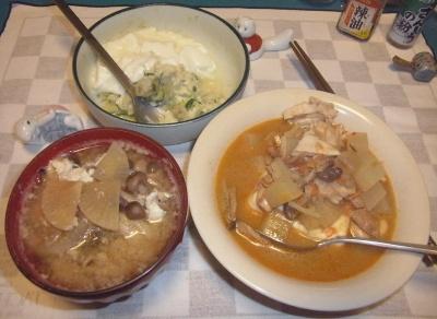 RIMG0010_0725夜-カレー豆腐、大根の味噌汁、ヨーグルトポテトサラダ_400.jpg