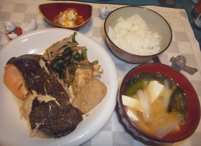 RIMG0025_1008夜-鰈の煮物、豆腐の味噌汁、かぼちゃのヨーグルト和え_400.jpg