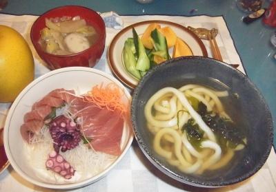 RIMG0002_1115夜-お刺身、うどん、里芋汁、キュウリと柿_400.jpg
