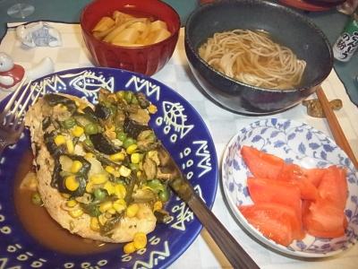 RIMG0013_1218夜-チキンソテー、トマト、蕎麦、豆腐お吸い物_400.jpg