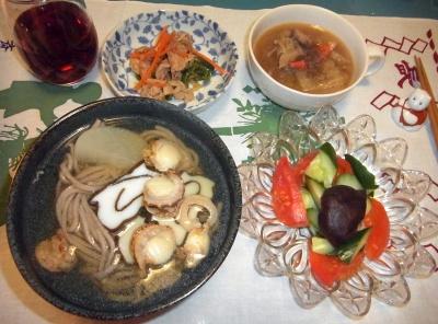 RIMG0006_0104夜-ホタテ蕎麦、トマトサラダ、ポーク炒め、白菜スープ_400.jpg