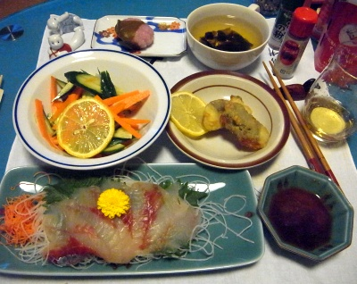 RIMG0013_0425夜-ホウボウお刺身、鶏の大葉フライ、人参サラダ、お吸い物_400.jpg