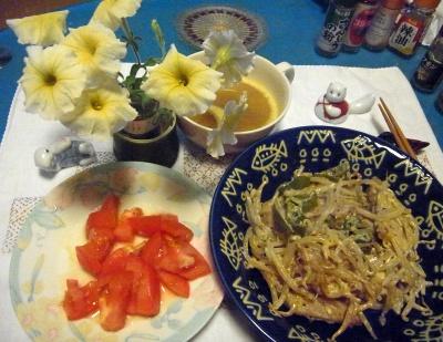 R0010131_0728夜-ポークソテーマヨネーズ風味、トマト、スープ_400.jpg