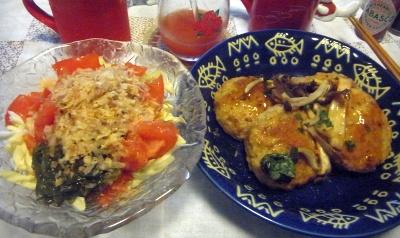 R0010501_0906夜-キャベツサラダ、豆腐バーグ_400.jpg