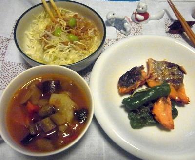 R0010517_0911夜-野菜スープ、鮭焼き、キャベツサラダ_400.jpg
