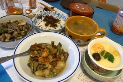 RIMG0001_1027夜-牡蠣のラタトゥユ添、茶碗蒸し、お味噌汁、大根_400.jpg