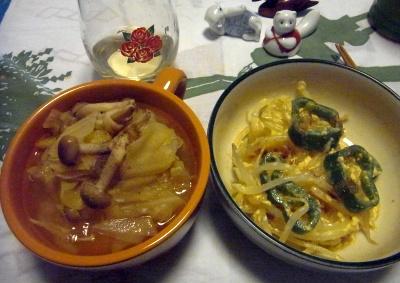 R0011534_0223夜-キャベツスープ煮、もやし卵とじ_400.jpg