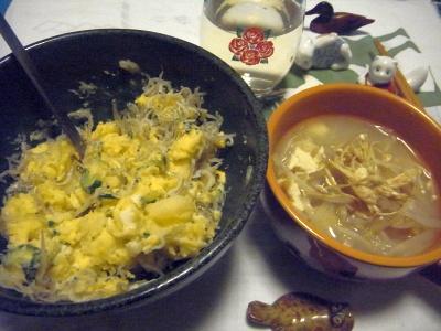 R0011623_0317夜-卵ポテトサラダ、干しエノキスープ_400.jpg