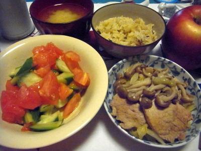 R0012684_0928夜-ポークスープ煮、サラダ、味噌汁_400.jpg
