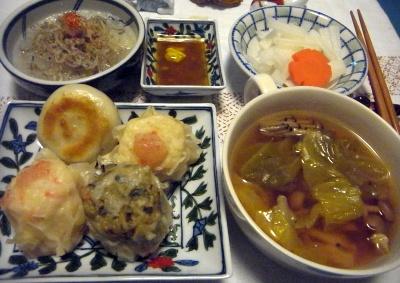 R0013966_0224夜-点心盛合せ、野菜スープ、しらすおろし、大根サラダ_400.jpg
