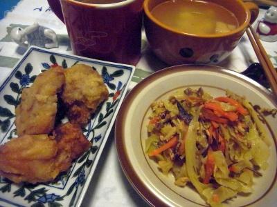 R0014111_0324夜-鶏の竜田揚げ、野菜炒め、スープ_400.jpg