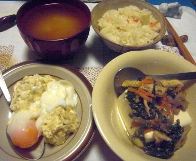 R0014539_0712夜-ポテトサラダ茹で卵、ほうれん草の胡麻和え奴、味噌汁_400.jpg