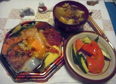 R0014851_0816夜-海鮮寿司、トマトとキュウリ、けんちん汁_400.jpg