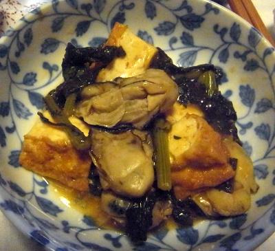 R0015677_1217夜-牡蠣と春菊と厚揚げの炒め物_400.jpg
