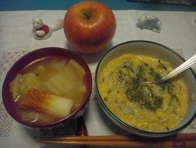 R0015807_0110深夜-めかぶシラス卵ご飯、白菜とちくわのスープ_400.jpg