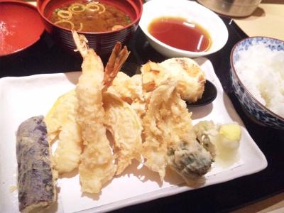 SBSH0777_0210昼-両国江戸NOREN天ぷら食堂ひさご:天ぷら定食¥1100_400.jpg