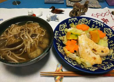 DSC_1081_1205夜-ささみとキャベツソテー、温蕎麦_400.jpg