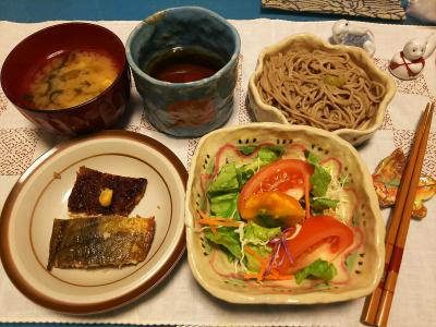 DSC_1253_1222夜-レバーかつとほっけ焼き、サラダ、みそ汁、蕎麦_400.jpg