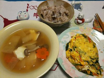 DSC_1532_0202深夜-オムレツ、スープ、小豆ご飯_400.jpg