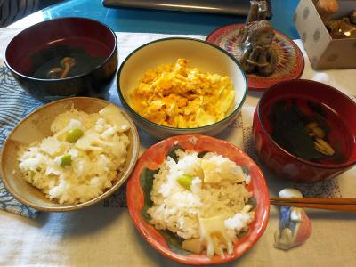 DSC_2237_0427昼-筍ご飯、キャベツ卵とじ、お吸い物_400.jpg