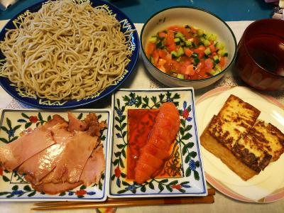 DSC_3415_0801昼-辛子明太子、厚揚げ焼き、焼き豚、流水麺蕎麦_400.jpg