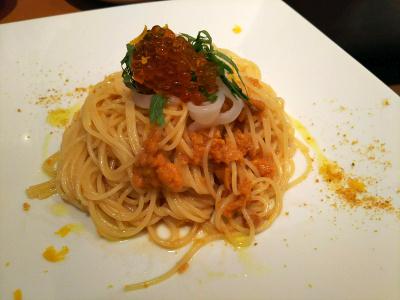 DSC_3885_0913昼・外食-いくら・ウニ・カラスミの冷製スパゲティ_400.jpg
