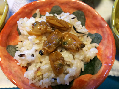 DSC_3970_0921昼-アサリの佃煮ご飯_400.jpg
