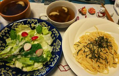 DSC_4578_1106昼-採れたてラディッシュサラダ、たらこスパゲティ、スープ_400.jpg