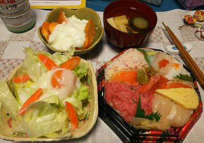 DSC_4956_1201夜-海鮮寿司、卵サラダ、ナスと豆腐のお吸い物、柿ヨーグルト_400.jpg