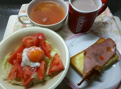 DSC_5138_1210昼-ポークチーズトースト、トマト、レタスサラダ温泉卵、スープ_400.jpg