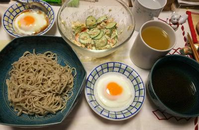 DSC_6144_0320夜-温泉卵、蕎麦、ポテトサラダ_400.jpg