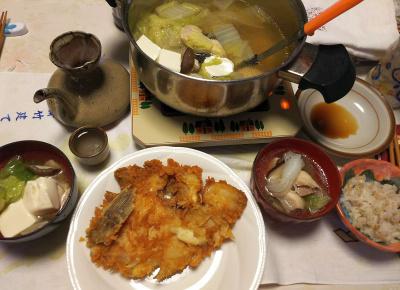 DSC_6255_0325夜-鶏鍋、華麗の唐揚げ、雑穀ごはん_400.jpg