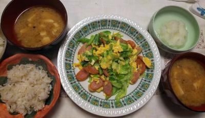 DSC_8716_0924夜-野菜炒め、豆腐味噌汁、大根おろし、雑穀ごはん_400.jpg