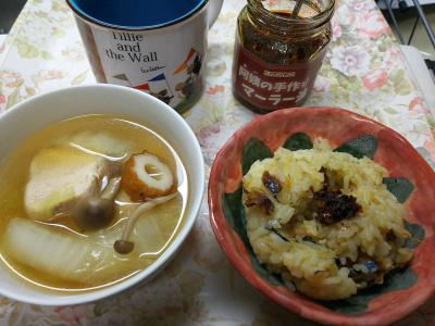 DSC_9977_1221昼・キッチン-サンマオレンジご飯、チキンスープ_400.jpg