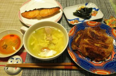 DSC_1329_0207夜-羽つき餃子、スープ、鮭焼き、海苔餅_400.jpg