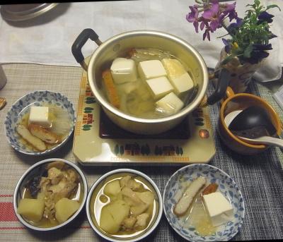 R0017777_0329夜-湯豆腐、鶏とじゃがいもの煮物_400.jpg