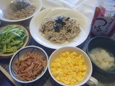R0018448_0617昼-流水麺蕎麦に海苔、千切りキュウリ、焼豚、炒り卵、大根おろし_400.jpg