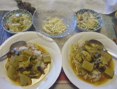 R0018981_0817昼-高野豆腐のタイ風カレー、サラダ_400.jpg
