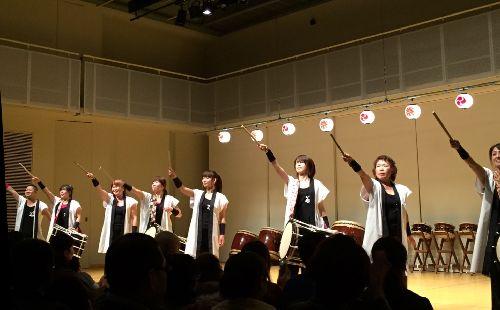 松本市和太鼓鳴桜(なを) 発表会