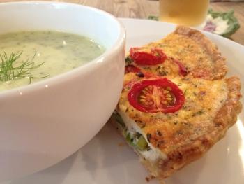 12日のランチ:『キッシュとスープ』