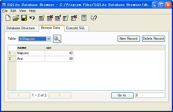SQLite Database Browser2