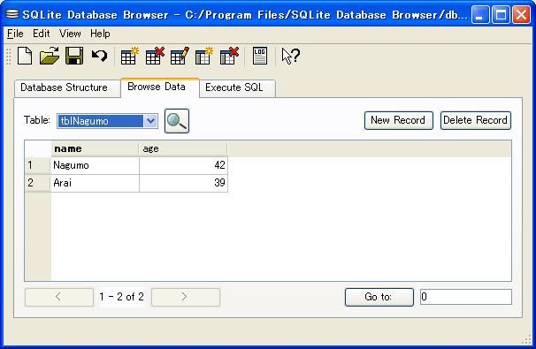 SQLite Database Browser2