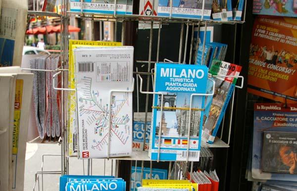 ミラノ地図