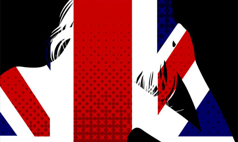 British Invasion close up