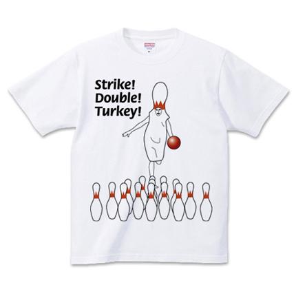 ボウリングピンマン Tシャツ