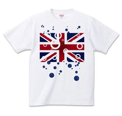 unionjack/halftone-SODA t-shirt