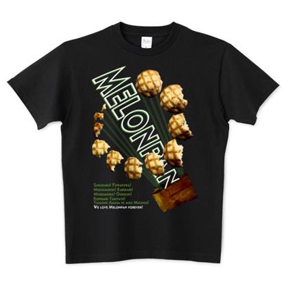 メロンパン Tシャツ ブラック